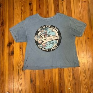 American Eagle Tailgate graphic tee